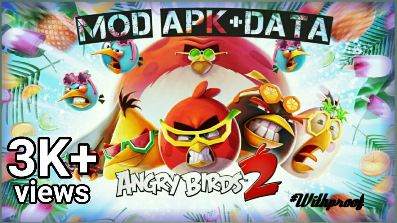 angry birds 2 mod apk and obb