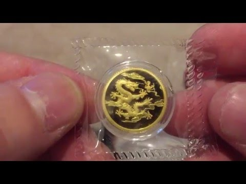 My 1st Vid of 2016 with Kazakhstan Lunar, Shanghai Mint Dragon & Phoenix, RAM Koala