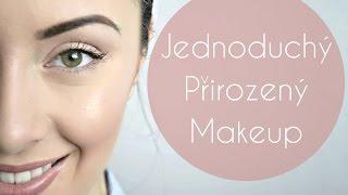 Přirozený jednoduchý makeup - Jak pracovat s rozjasňovačem
