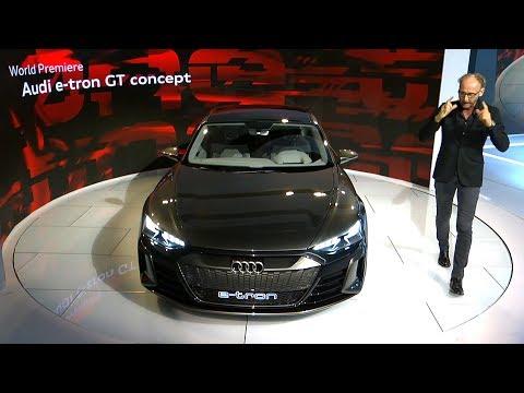 Audi e-tron GT Concept Reveal at the Los Angeles Auto Show