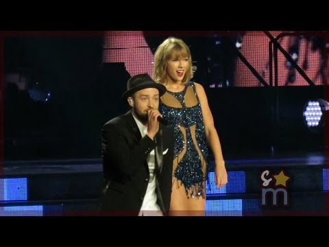 """Taylor Swift & Justin Timberlake - """"Mirrors"""" Clip at Staples Center"""