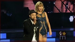 "Taylor Swift & Justin Timberlake - ""Mirrors"" Clip at Staples Center"