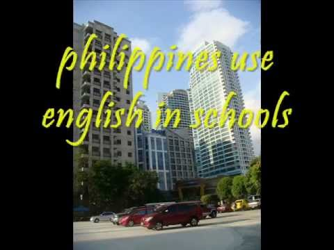 philippines : no.1 English speaking country in Asia!