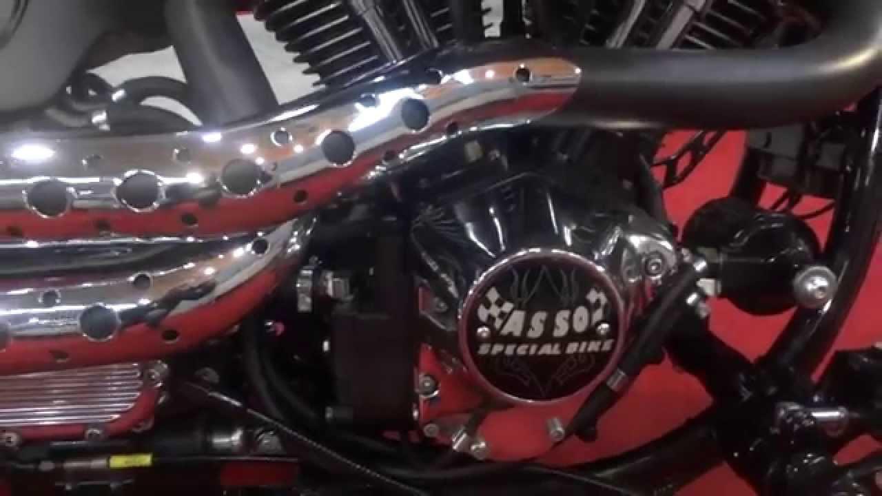 b8741f6a8511c Harley Davidson Custom Motorcycles & Hells Angels : Tattoo Girls & Bikes  Video - YouTube