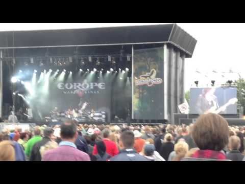 Europe - The Final Countdown at Bospop, Weert, the Netherlands. July 12, 2015