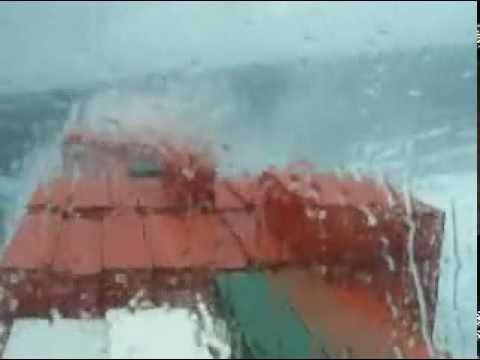 Containership in monster waves