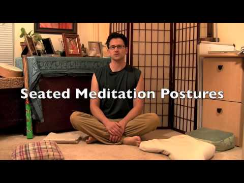 How to Sit For Meditation - Meditation Postures
