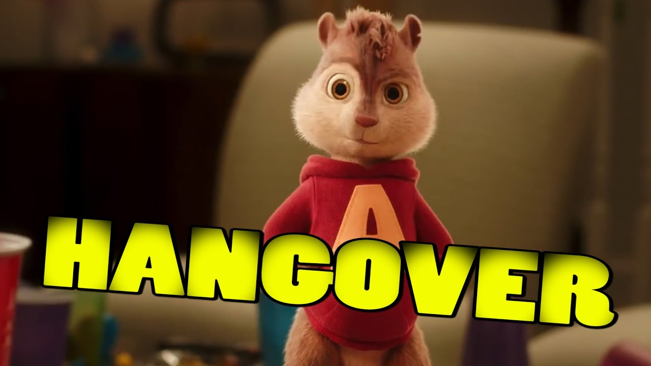 hangover alvin and the chipmunks the road chip youtube