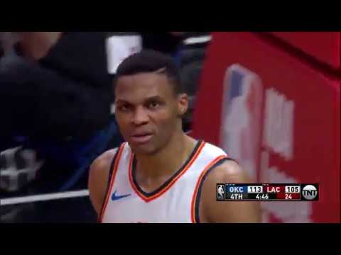 Russell Westbrook Notches Triple-Double in Thunder Victory Against Clippers