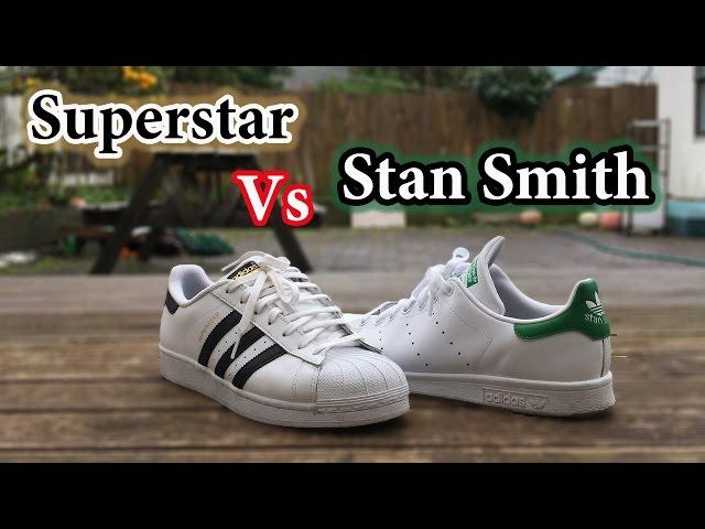 Superstar vs Stan Smith | Adidas