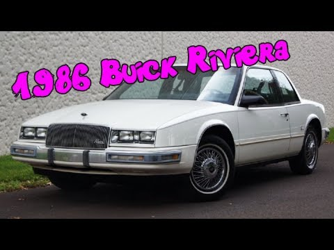 1986 buick riviera coupe with factory touch screen digital. Black Bedroom Furniture Sets. Home Design Ideas