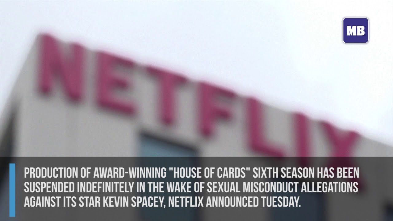 Netflix suspends 'House of Cards' production