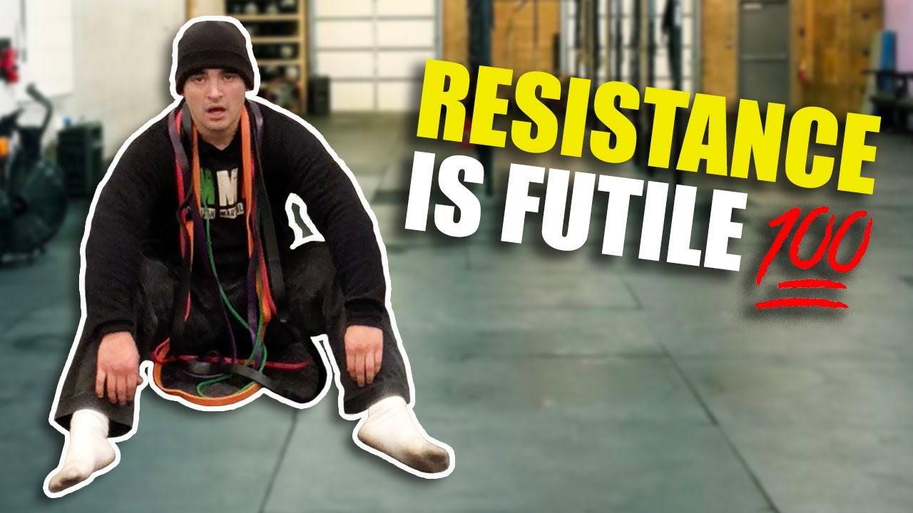 Resistance Band Workout BREAKS Grand Master of MMA