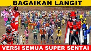 Bagaikan Langit || Versi Semua Super Sentai, Dari jaman dulu bahkan yg terbaru 😍
