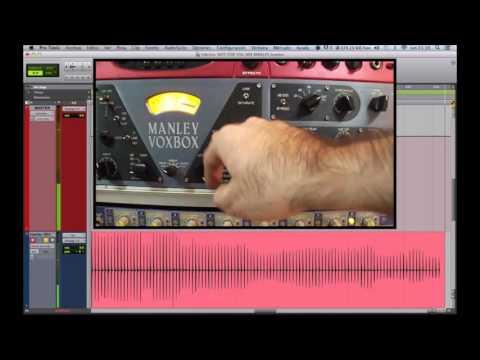Manley Voxbox on bass drum