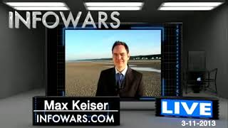Max Keiser talking to Alex Jones about  Bitcoin and his trading patents, J.P.Morgan etc