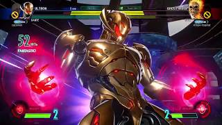 ITS NOT DROPS ITS AMERICAN RESETS! Online MVCI (Me) Dante/Ultron VS Ghost Rider/Hulk