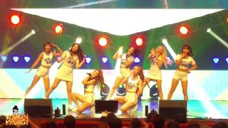 """Momoland's """"Freeze"""" at K-Pop Live at The Theater @ Solaire."""