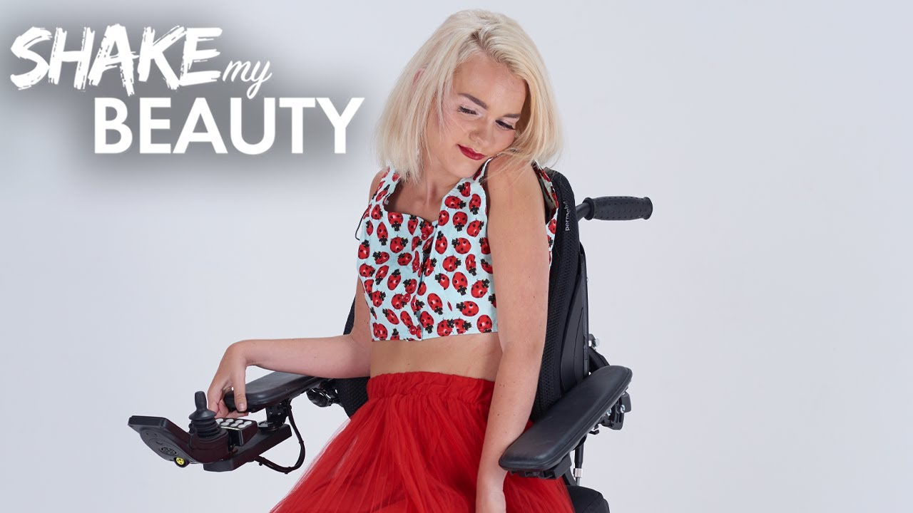 I Can Be Disabled And A Model | SHAKE MY BEAUTY