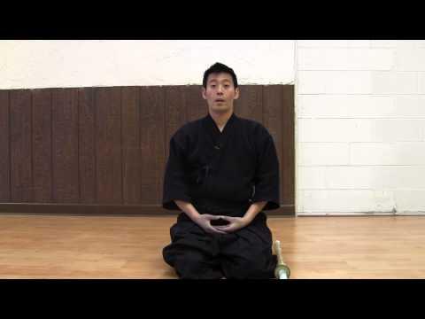 04 Kendo Basics I - Seiza and Mokuso (meditation)