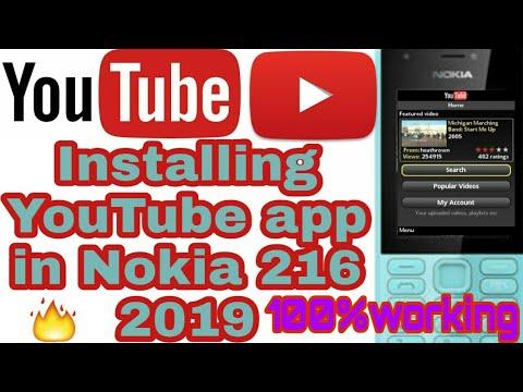 Installing YouTube app in Nokia 216(nokia phones) in Hindi 2019