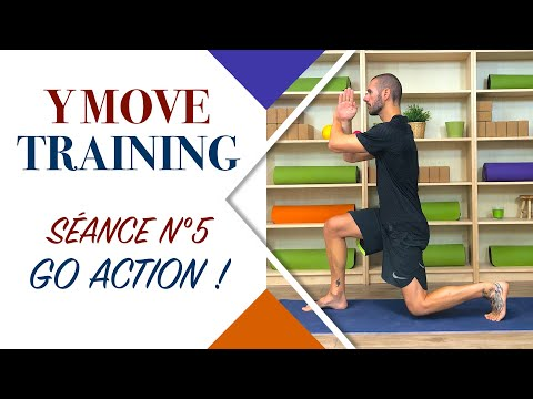 Y Move Training : Séance N°5 (Yoga, Pilates, Mouvements Animal )