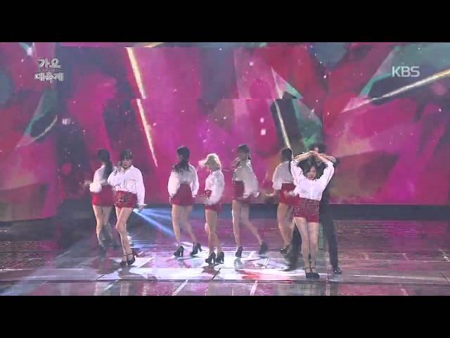 [HIT] KBS 가요대축제-소녀시대 - Mr. Mr..20141226