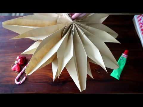 Christmas DIY Paper Flower in Just 2-Minute