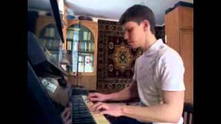 В мире животных piano cover