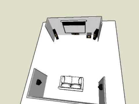 installation home cinema 5 1 youtube. Black Bedroom Furniture Sets. Home Design Ideas