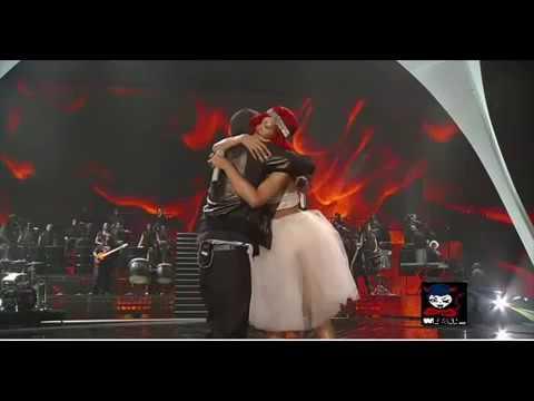 Eminem ft Rihanna Not Afraid Live Performance 2015- finall