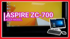 ASPIRE ZC-700 SPECS - ACER Model Specifications Unboxing Features (PC Monitor)