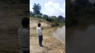 Layan patin d sungai langat