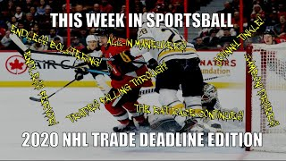 This Week in Sportsball: 2020 NHL Trade Deadline Edition