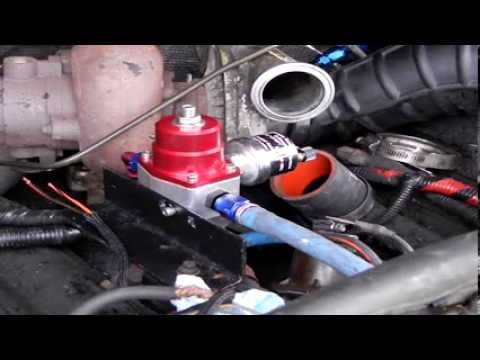 How to do a Electronic Fuel Conversion Part 2 - 96 F350 7.3 Powerstroke Diesel (E-Fuel)