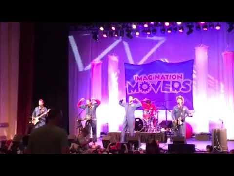 Imagination Movers 2017 tour