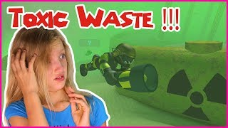 TOXIC WASTE UNDER THE SEA!!!