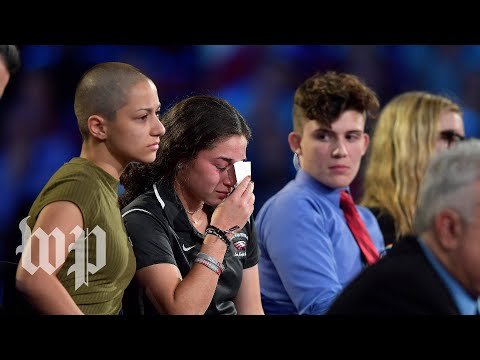 Florida students discuss movement to end school shootings