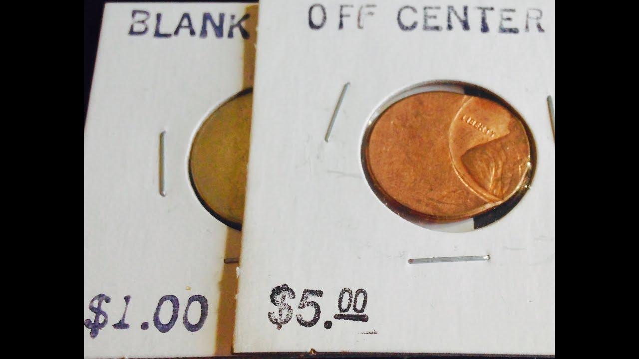 4cb69051e860f8 Off Center Error Coin - Lincoln Penny Worth $5 - YouTube