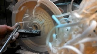 Woodturning - From Log To Finished Bowl In 18 Hrs