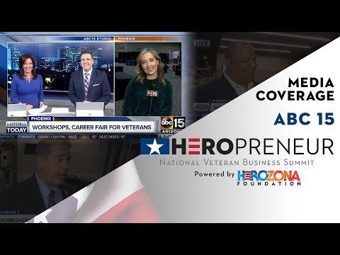 HeroPreneur NVBS 2018 onsite coverage from ABC 15 Mornings