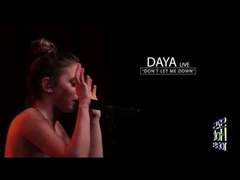 "Daya ""Don't Let Me Down"" LIVE at the Marquee Theatre 8.1.16"
