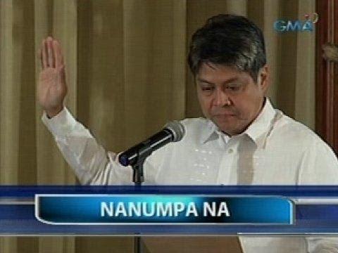 Pangilinan, nanumpa bilang Presidential Assistant on Food Security and Agricultural Modernization