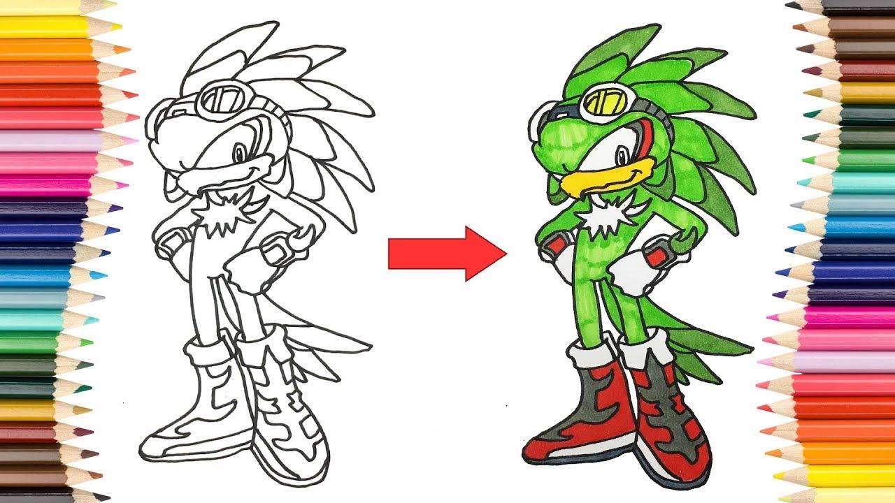 Dibuja y Colorea Jet the Hawk de - Dibujos Para Niños ...