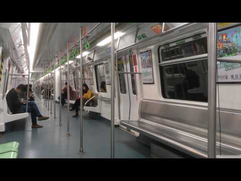 [FHD 60FPS] Shenzhen Metro Line 1 TEG IGBT-VVVF Train (Hourui to Gushu)