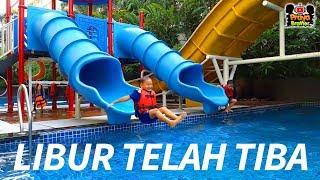 Staycation Family at Hotel Eastparc Lengkap Ada Mandi Bola Playground dan Kebun Binatang Mini