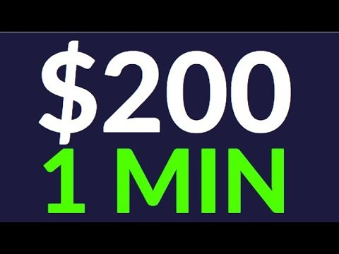 Earn $200 in 1 Min for FREE TODAY! (Make Money Online)