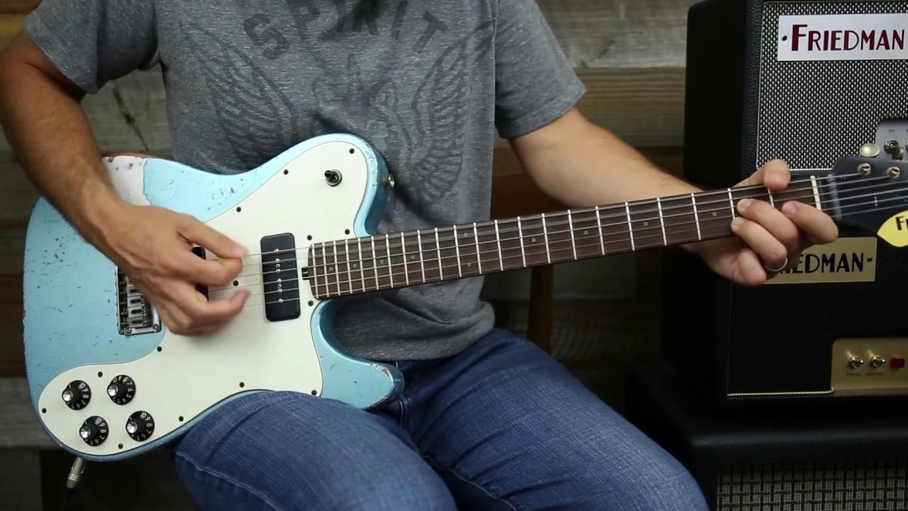 Friedman Vintage T Guitars Guitar Demo 3 Different Models P90
