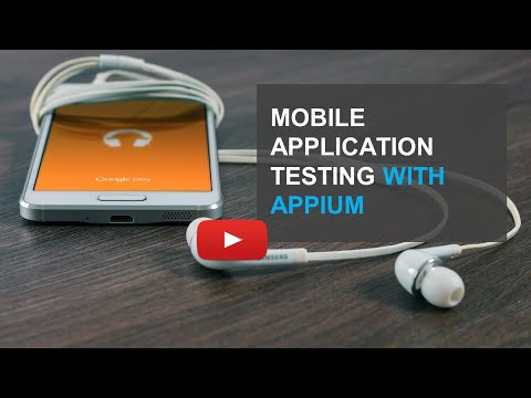 Mobile Testing Training: Introduction To Appium Testing