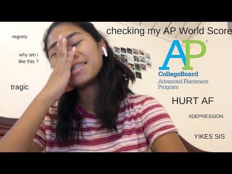 AP WORLD HISTORY SCORE REACTION 2018! * literally tragic*